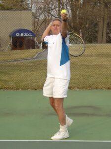Lake Hopatcong, Yacht Club Tennis Court server