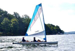 Lake Hopatcong, Yacht Club paddlesailing