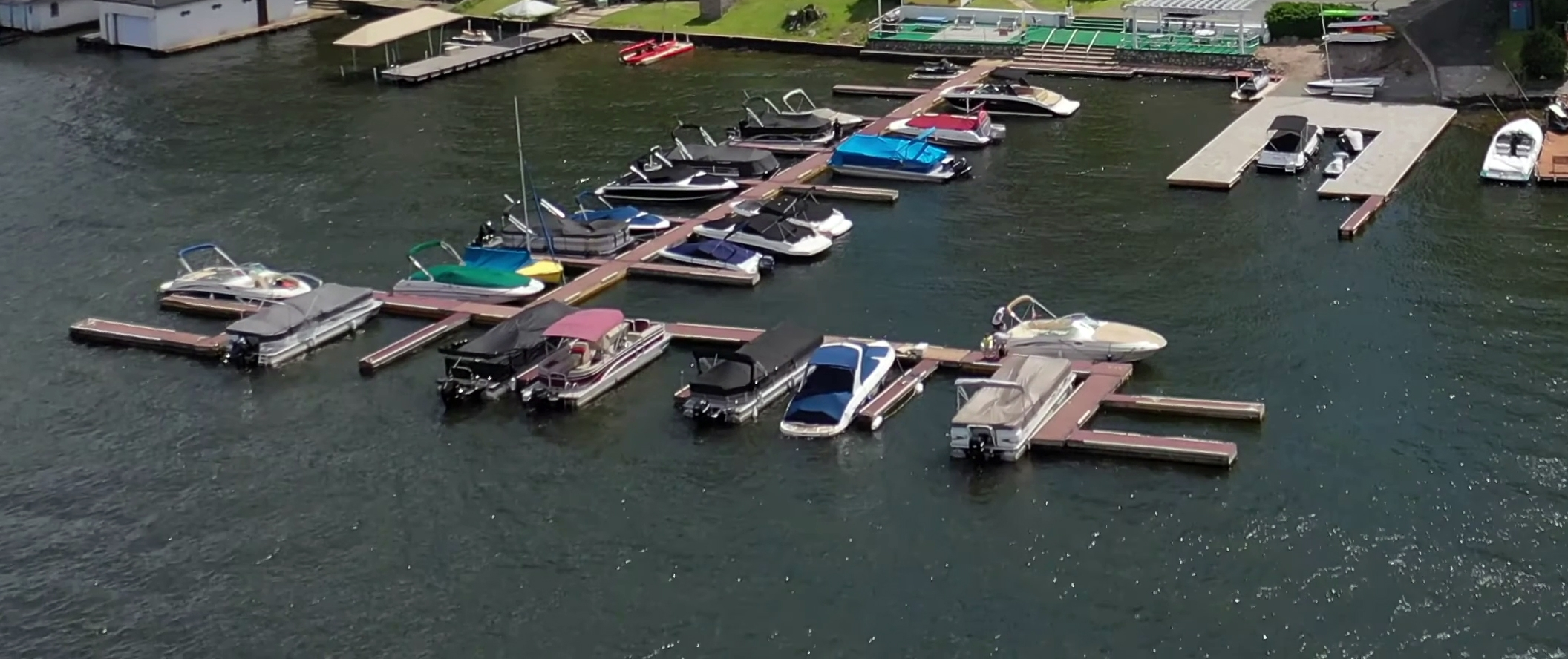 Lake Hopatcong, Yacht Club docks at GSYC
